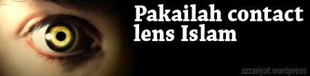 Pakailah contact lens islam
